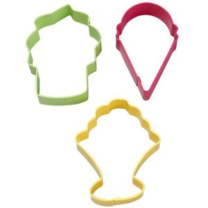 Ice Cream 3-pc. Cookie Cutter Set